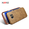 XOOMZ PU Leather Phone Case for Samsung Galaxy s7 s7 Edge Ultra Thin Back Cover