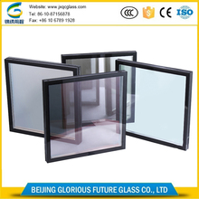 Beijing manufacturer competitive price low e insulated glass tempered factory