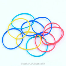 38mm size multi colored synthetic rubber band