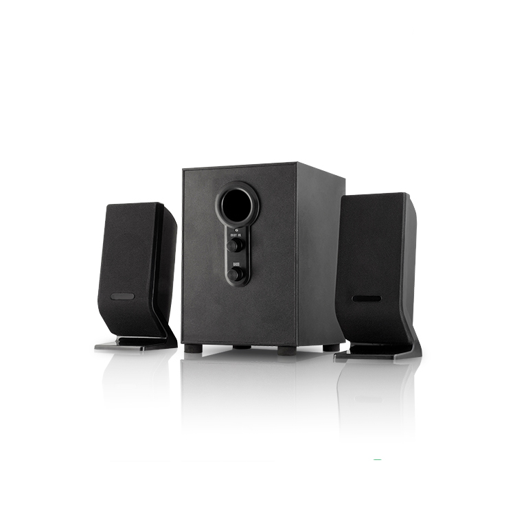 Top quality 2.1 subwoofer Computer Speaker with USB SD card and Fm radio