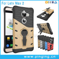 Hot Selling 360 Degree Rotation Holder Shockproof Case For LeEco Le Max 2 Hybrid Armor Case