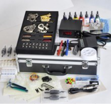 2017 hot selling Top-Quantity Permanent Digital Complete 4 Machine tattoo Kit