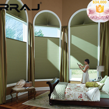 RRAJ Arch Window Shade Honeycomb Fabric Blinds