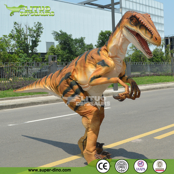 Movie Prop Walking Dinosaur Costume