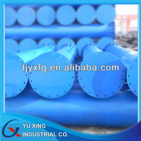 Large OD Steel Pipe Column for Underground/Steel Pipe Pile/Steel Prop Support Pit-LSAW Steel Pipe with Flange and Stiffener