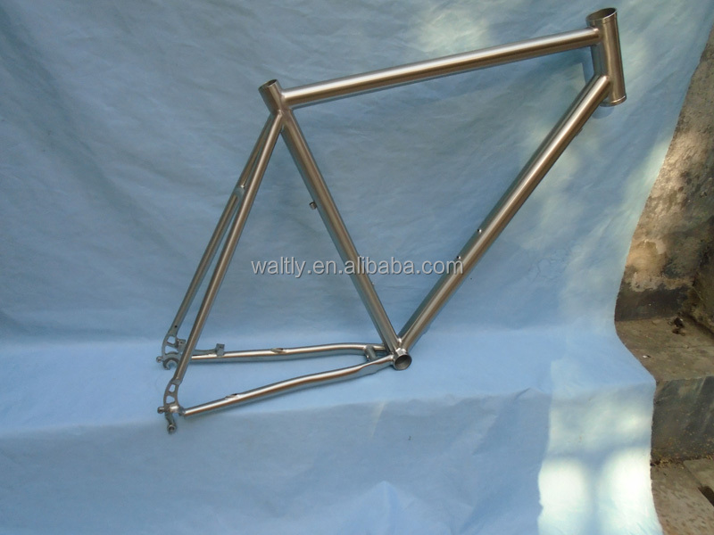 Complete bicycles titanium road race bike frame imported from china