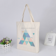Best selling canvas tote bag natural recyclable shopping cotton canvas bag