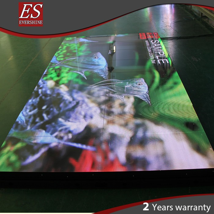 P5.2 professional hd screen 3in1 light weight led dance floor for car exhibition auto show