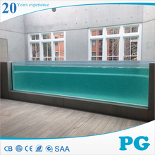 PG Clear Acrylic Plexiglass Wall Panels for Swimming Pool