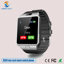 Guangzhou wholesale factory price dz09 android bluetooth sport smart watch phone 2017 with sim card
