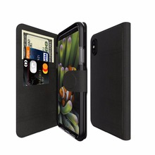 Flip Luxury Real Genuine Leather Mobile Cell Phone Cover Case For Iphone X For Iphone 10