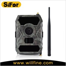 12MP 1080P 3G wireless solar panel powered waterproof outdoor security hunting camera