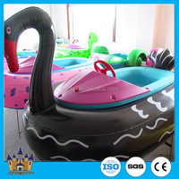 [direct manufacturer] swimming pool / amusement park electric Inflatable animal boat/ kiddie water rides