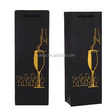 wholesale noble elegant wine paper bag for party