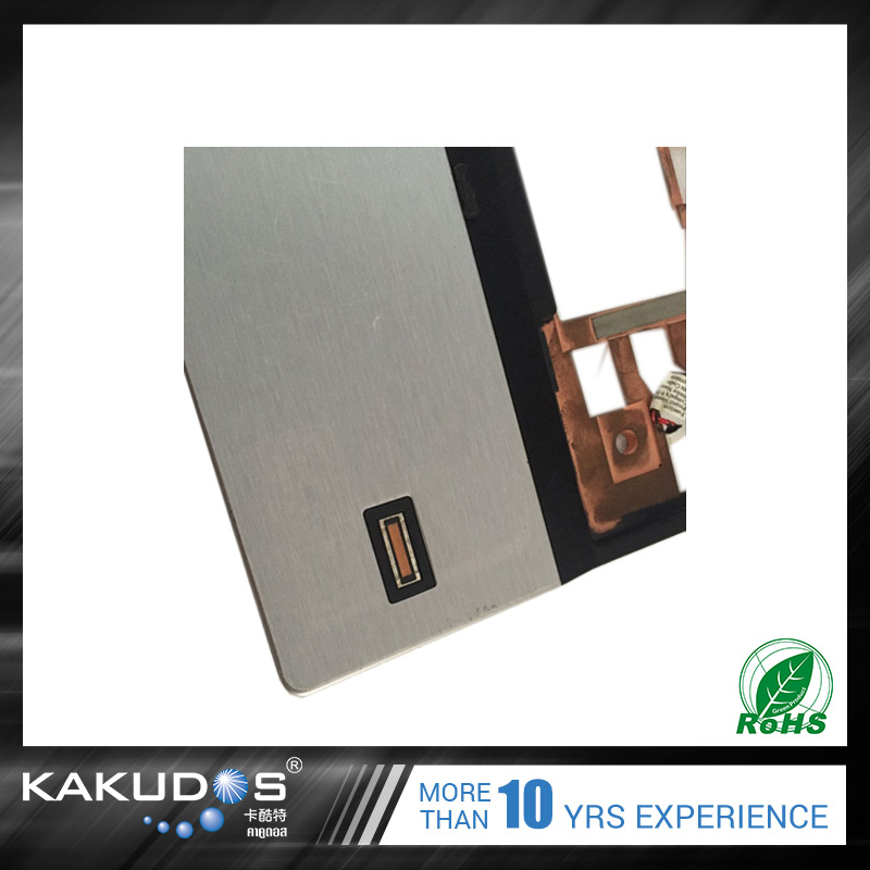 Texture printing Imported material full body laptop skin for HP 2530P
