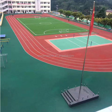 factory direct supply high quality colored EPDM rubber granules for synthetic running tracks sports surface