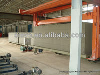 ball mill, casting machine, titling hanger, ferry cart, autoclave, AAC cutter, boiler