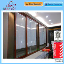 Aluminium Doors And Windows With Window Blind / Louver Inside