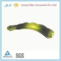 Wholesale plain large banana hair clips