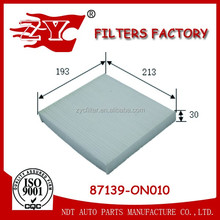 China Factory Auto car Cabin Air Filter 87139-ON010 FOR TOYOTA Car