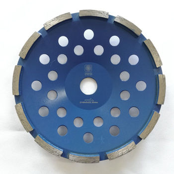 5 inch 6 inch 7inch Single Row Segmented Diamond Grinding Cup Wheel