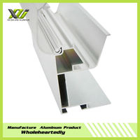 Fabric section aluminum profiles for advertising light box