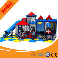 Indoor Play Game Gym House With Roller Slide For Toddler Kids (XJ5180)