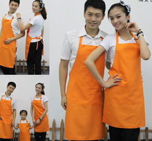 Custom printed text ads logo aprons custom uniforms hanging neck aprons easy to clean deformation is not wear-resistant