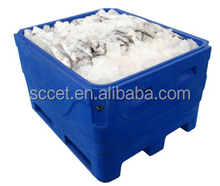 large cooler carrier fish transport fish totes Insulated container
