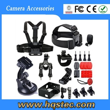 2015 gold supplier new Gopros accessories kit for gopros 4/3+/3/2/1 gopros accessories kit
