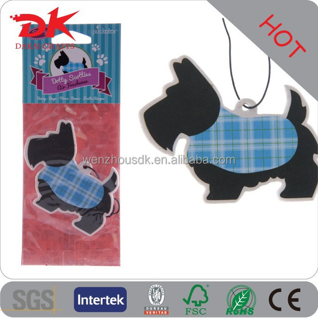 Promotional car interior decorating Paper Fragrance card cottom paper Car perfume