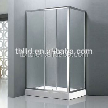 high quality curved shower panel glass door walk-in shower room