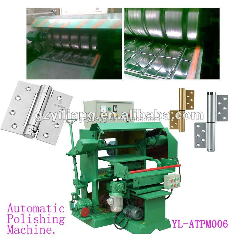 Automatic door hinge surface polishing stainless steel grinding machine