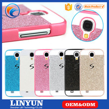 for Samsung S4 Galaxy Fashion Glitter Bling Bling Plastic Back Cover Case Hard S Line Case