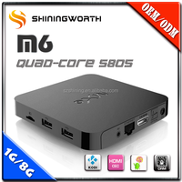 Top Selling 1080P KODI WIFI S805 1GB Ram Google Android 4.4 TV Box Supplier