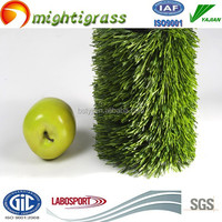 anti-uv and ISO9001 S shaped artificial sport grass turf
