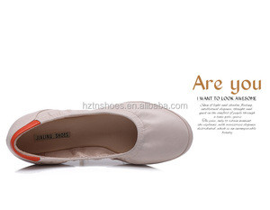 Lady foldable ballet shoe /Lady fashion ballrina shoe /lady casual shoe