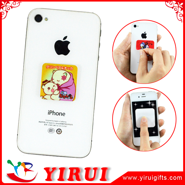 self adhesive cell phone screen cleaner