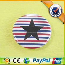 custom 58mm Dia Star full color printing tinplate badge