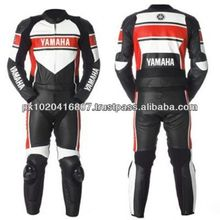 YAMAHA LEATHER RACING MOTORBIKE SUIT.
