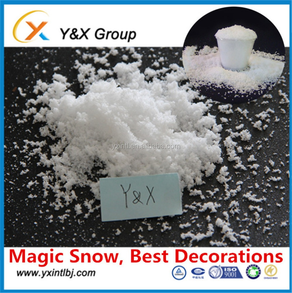 super absorbent polymer snow fresh powder