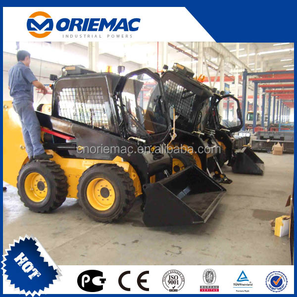 rubber track small skid steer loader XT740
