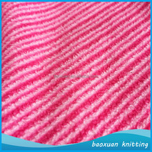 100% polyester soft stripe print polar fleece fabric custom printed baby blanket