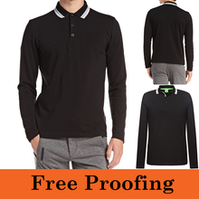 wholesale china factory pique polo shirts customized logo