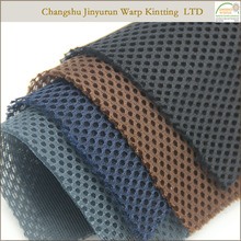 AR25 100% polyester honeycomb mattress air hole spacer warp fabric