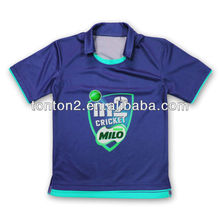 sublimation printing athletic jersey of cricket