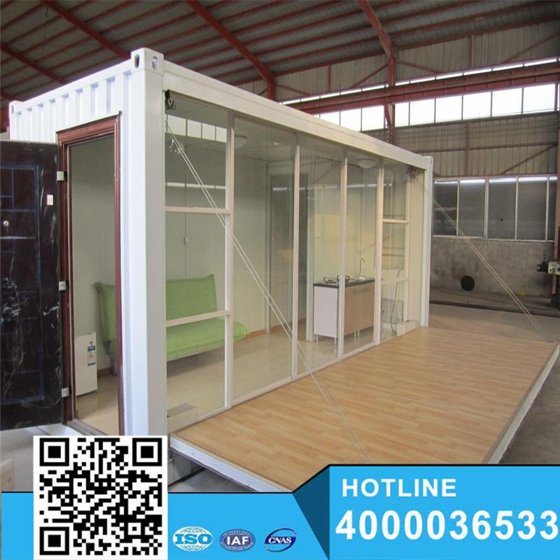 Small Design Many Colors Prefab Houses for Living and Office