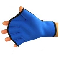 Diving equipment swimming paddle gloves hand webbed aqua fit swim training gloves