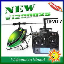 New! Walkera V120D02S 2.4G 6CH Remote Control RC Helicopter with Walkera DEVO 7 RTF