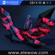 New Detachable Creative design customized led dj booth display